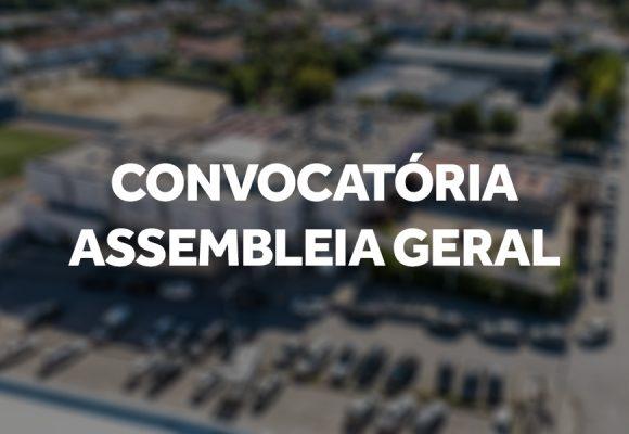 Convocatória Assembleia Geral 30 Dezembro 2020