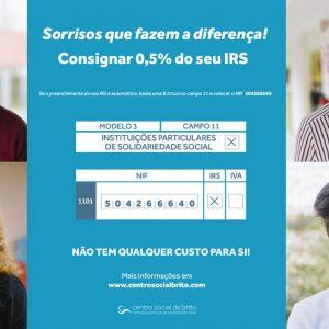 IRS 2020 – Sorrisos que fazem a diferença!